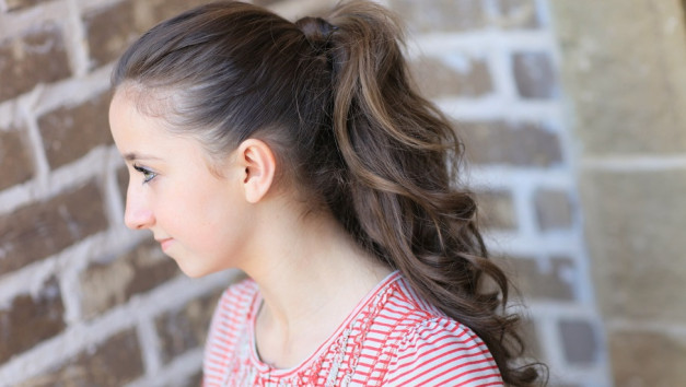 ponytail haircut for long hair
